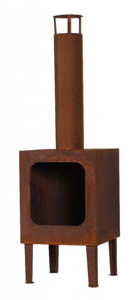 chemin e d 39 ext rieur en acier colorado rouill. Black Bedroom Furniture Sets. Home Design Ideas