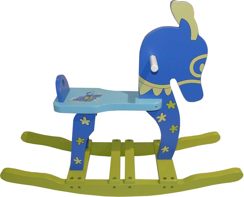 Cheval bascule pour enfant chevalier for Cheval a bascule exterieur
