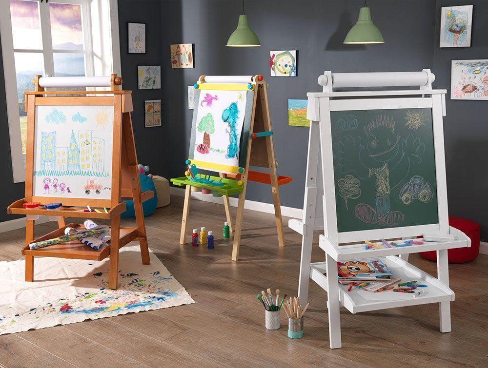 chevalet de dessin en bois tableau et ardoise. Black Bedroom Furniture Sets. Home Design Ideas