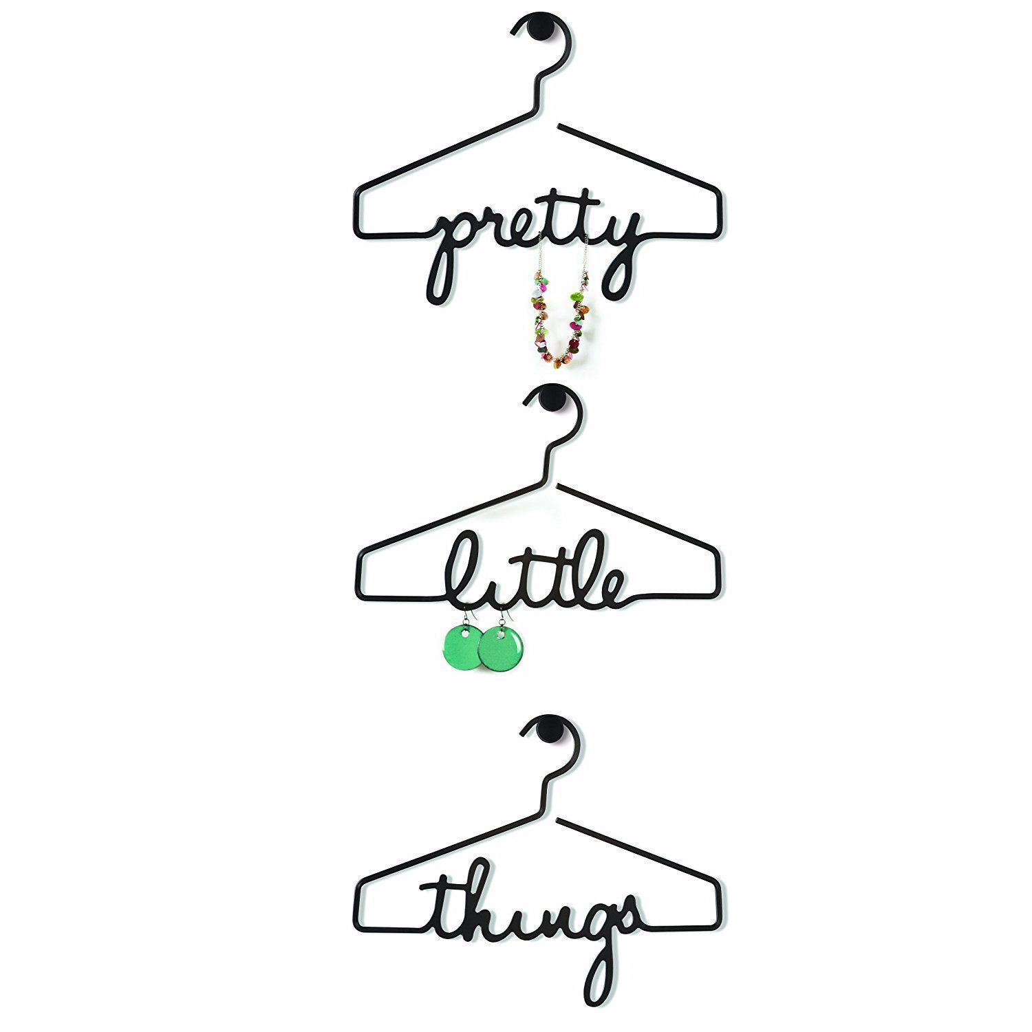 Cintre porte bijoux Pretty Little Things (Lot de 3) sur Jardindeco