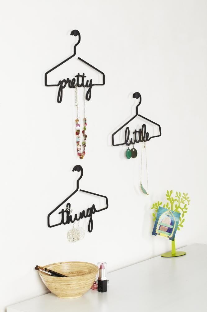 Cintre porte bijoux Pretty Little Things (Lot de 3)-1