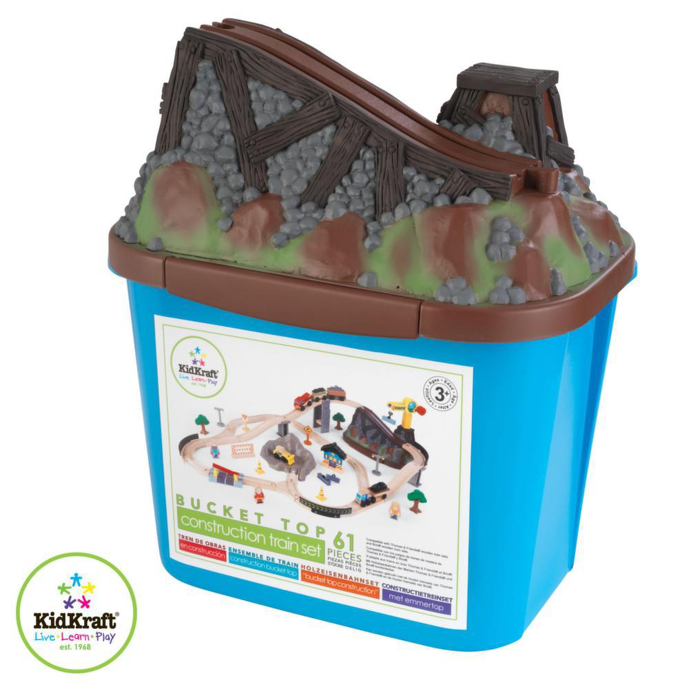 Circuit de train Bucket top en bois-1