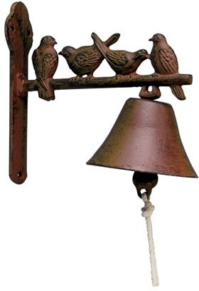 Cloche de jardin en fonte 4 oiseaux by Best for boots
