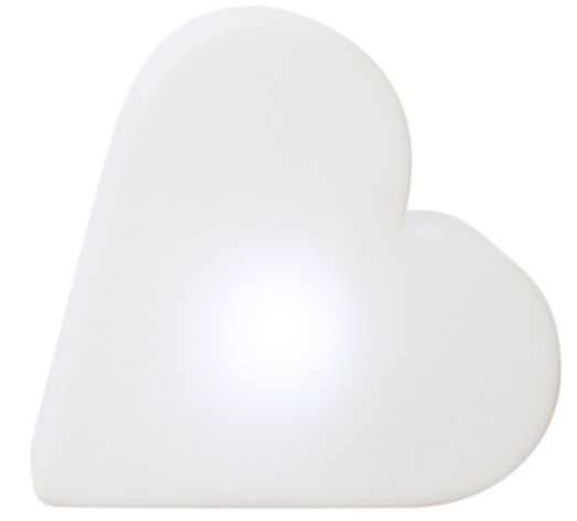 Coeur lumineux micro à poser LED by 8 seasons design gmbh