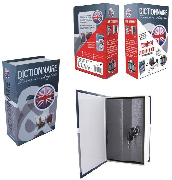 coffre fort anglais dictionnaire