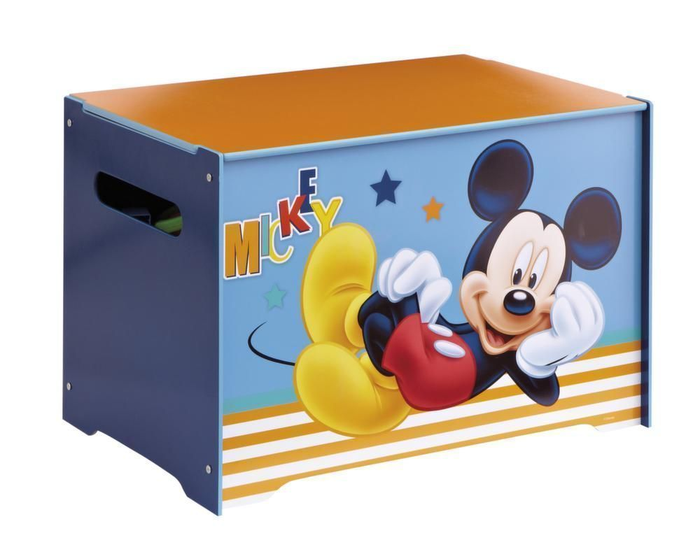 coffre jouets disney mickey. Black Bedroom Furniture Sets. Home Design Ideas
