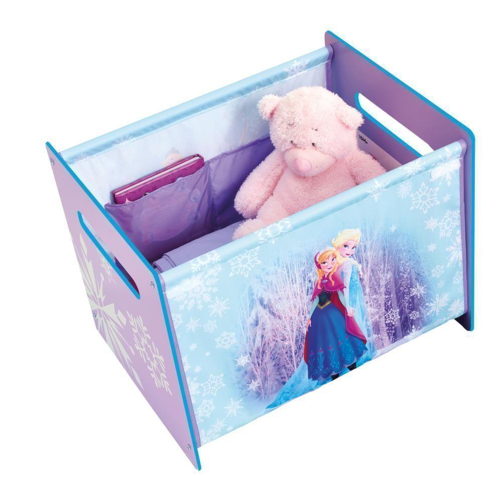 coffre jouets premium reine des neiges. Black Bedroom Furniture Sets. Home Design Ideas