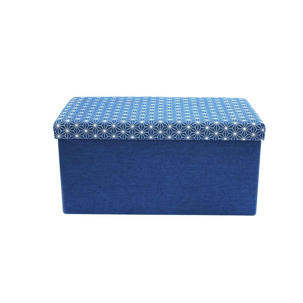 pouf coffre de rangement tissu 28 images songmics banc. Black Bedroom Furniture Sets. Home Design Ideas
