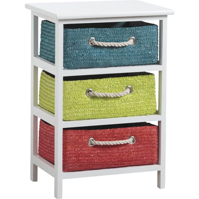commode 3 tiroirs couleurs. Black Bedroom Furniture Sets. Home Design Ideas