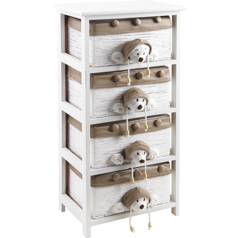 commode enfant en bois blanc. Black Bedroom Furniture Sets. Home Design Ideas