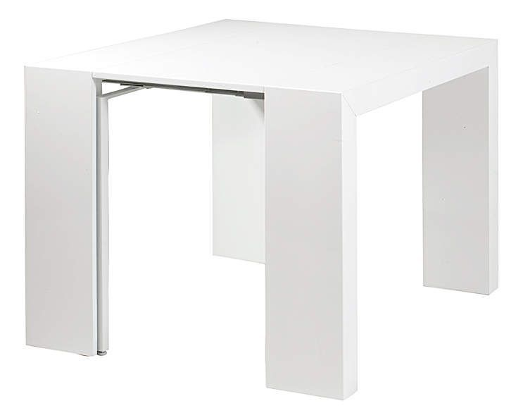 Console table salle manger oriane blanc - Console table a manger ...