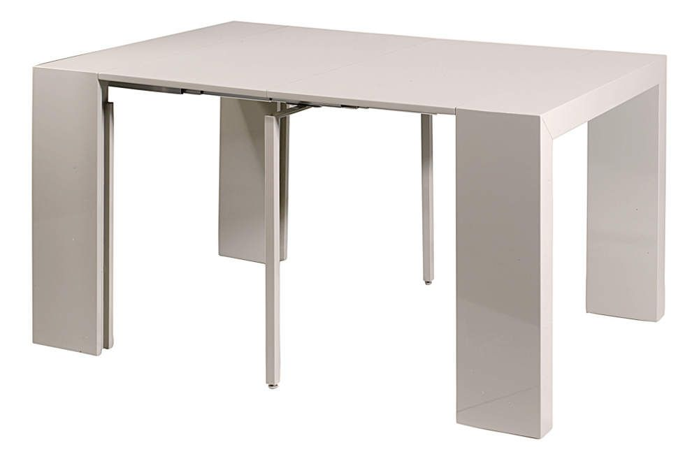 Console table salle manger oriane gris - Console table a manger ...