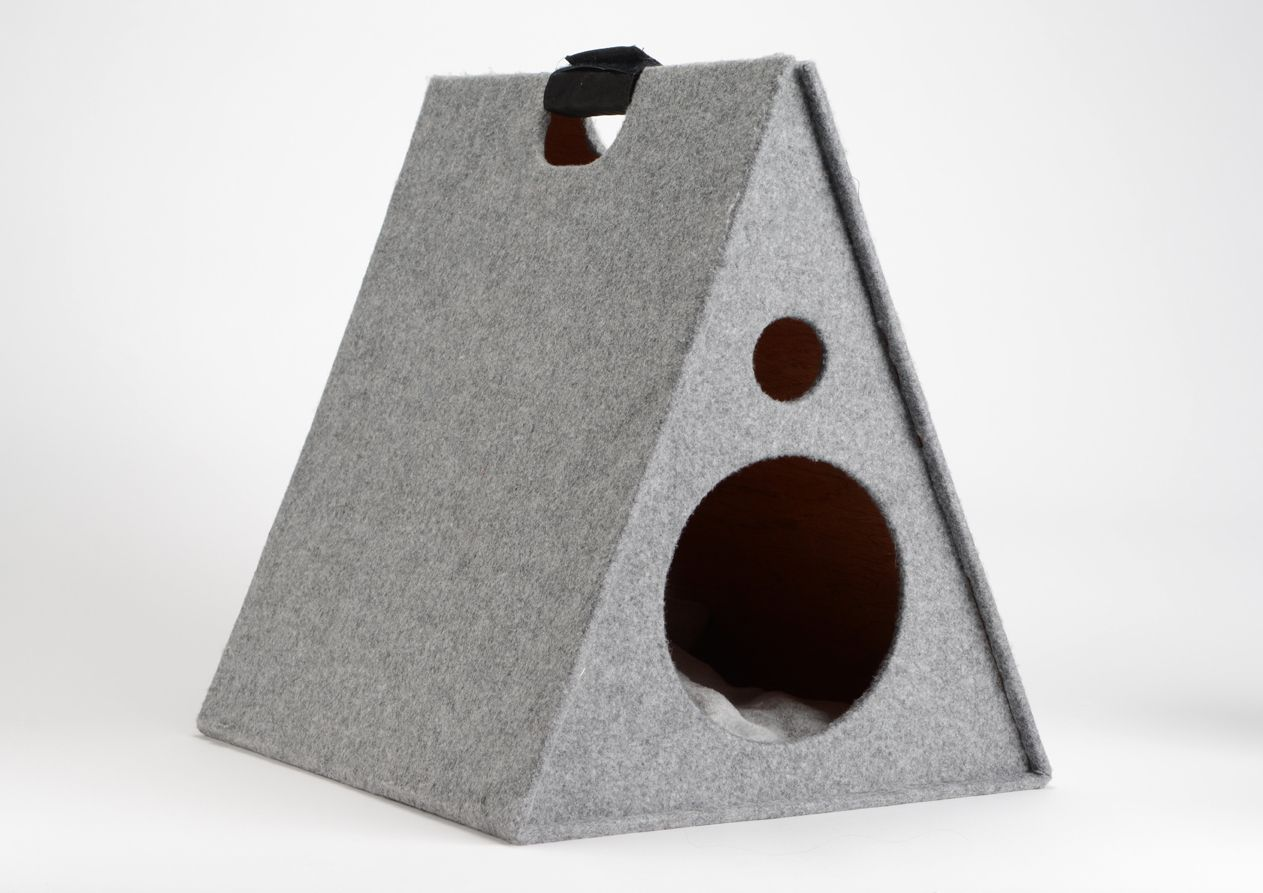 Couchette chat tipi design-3