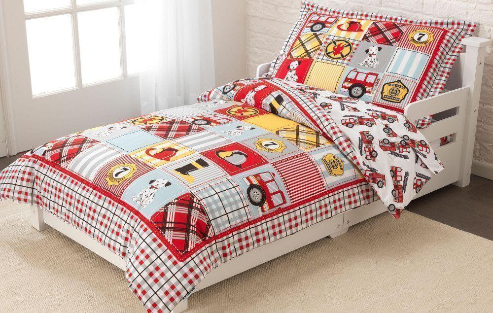 couette taie drap drap housse pompier. Black Bedroom Furniture Sets. Home Design Ideas