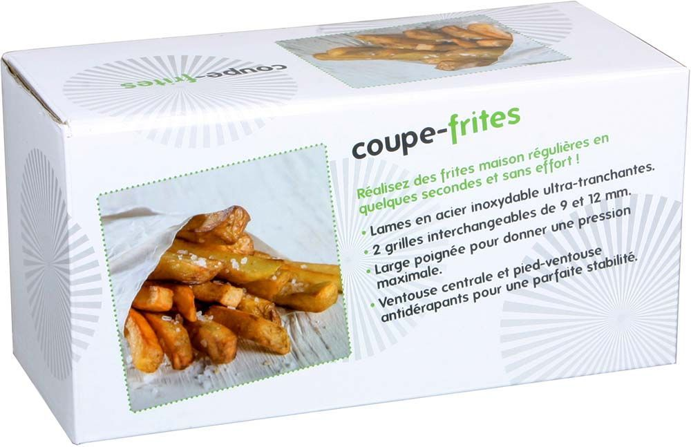 image_Coupe frites en inox 2 grilles