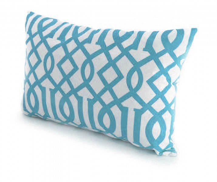 coussin stockholm 55x35cm bleu. Black Bedroom Furniture Sets. Home Design Ideas