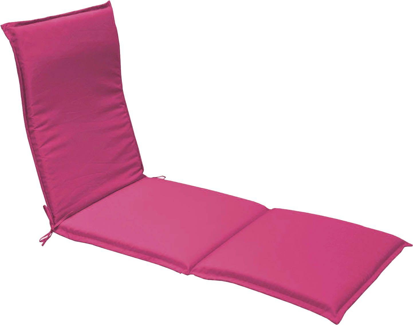 coussin bain de soleil garden lot de 2 framboise. Black Bedroom Furniture Sets. Home Design Ideas