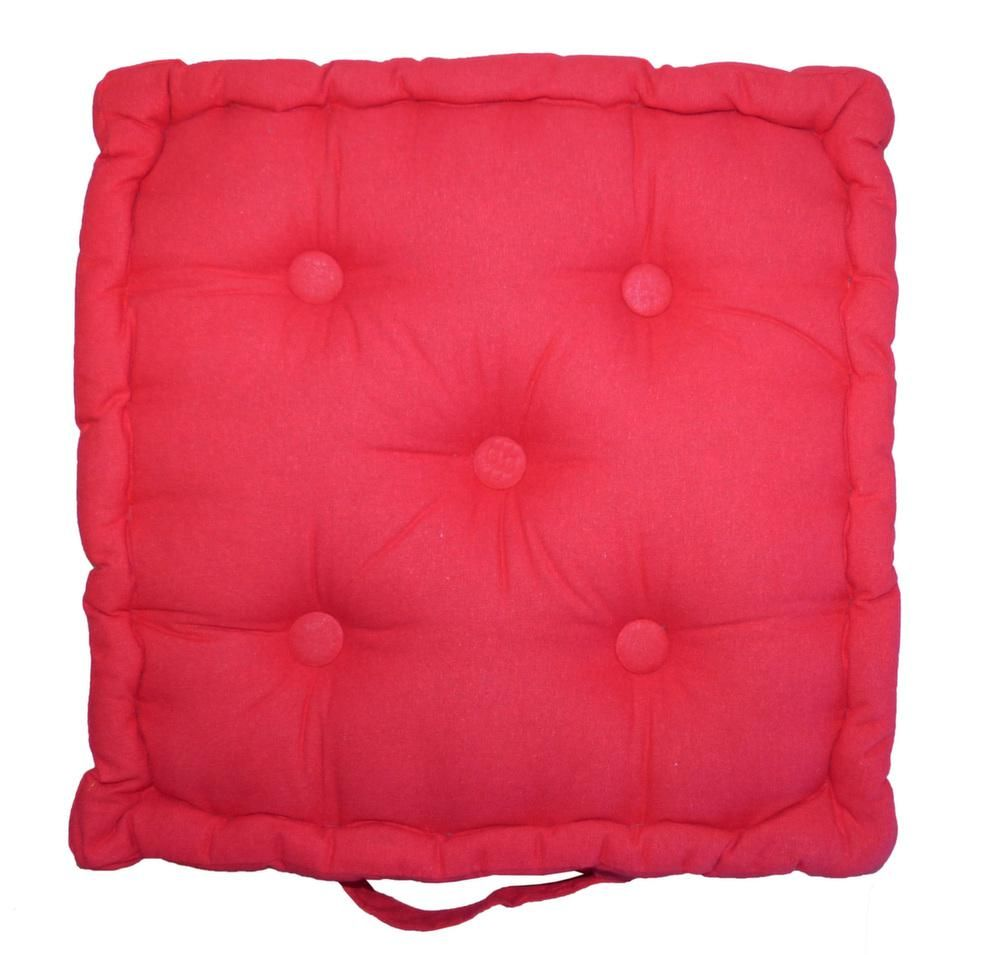 Coussin de sol en coton 40 cm by Cotton wood