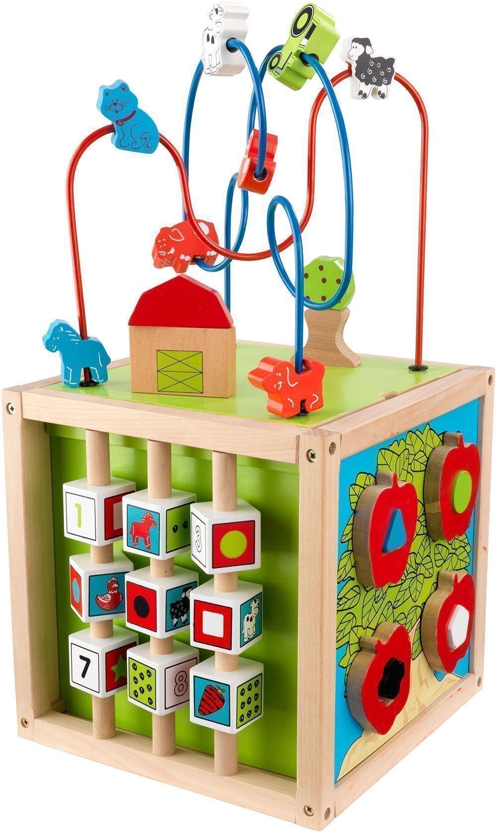cube d 39 veil labyrinthe en bois. Black Bedroom Furniture Sets. Home Design Ideas