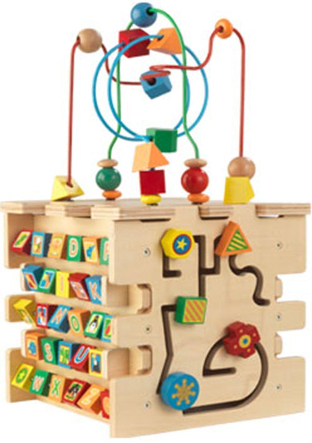 cube d 233 veil multi activit 233 en bois