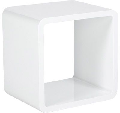 cube de rangement verso blanc. Black Bedroom Furniture Sets. Home Design Ideas