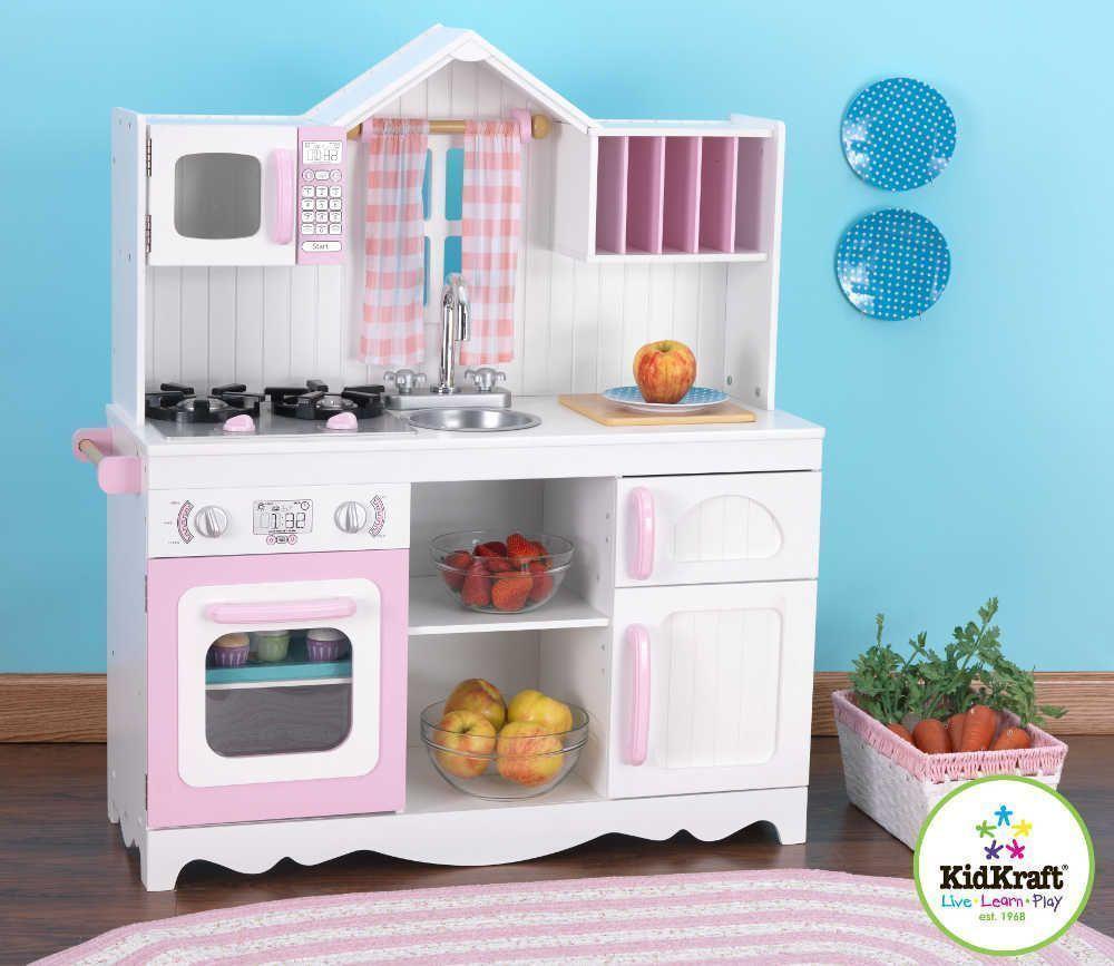 Cuisine pour enfant country ~ Cuisine En Bois Pour Petite Fille