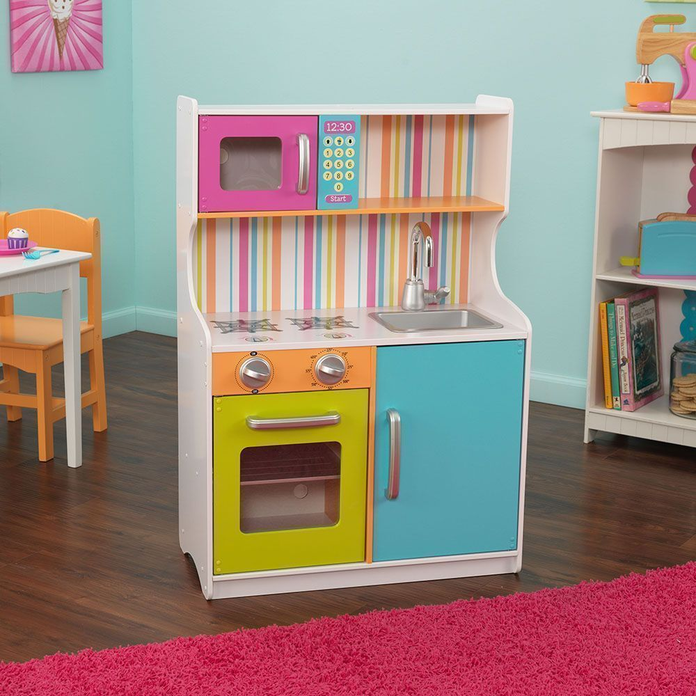 cuisine pour enfants color. Black Bedroom Furniture Sets. Home Design Ideas