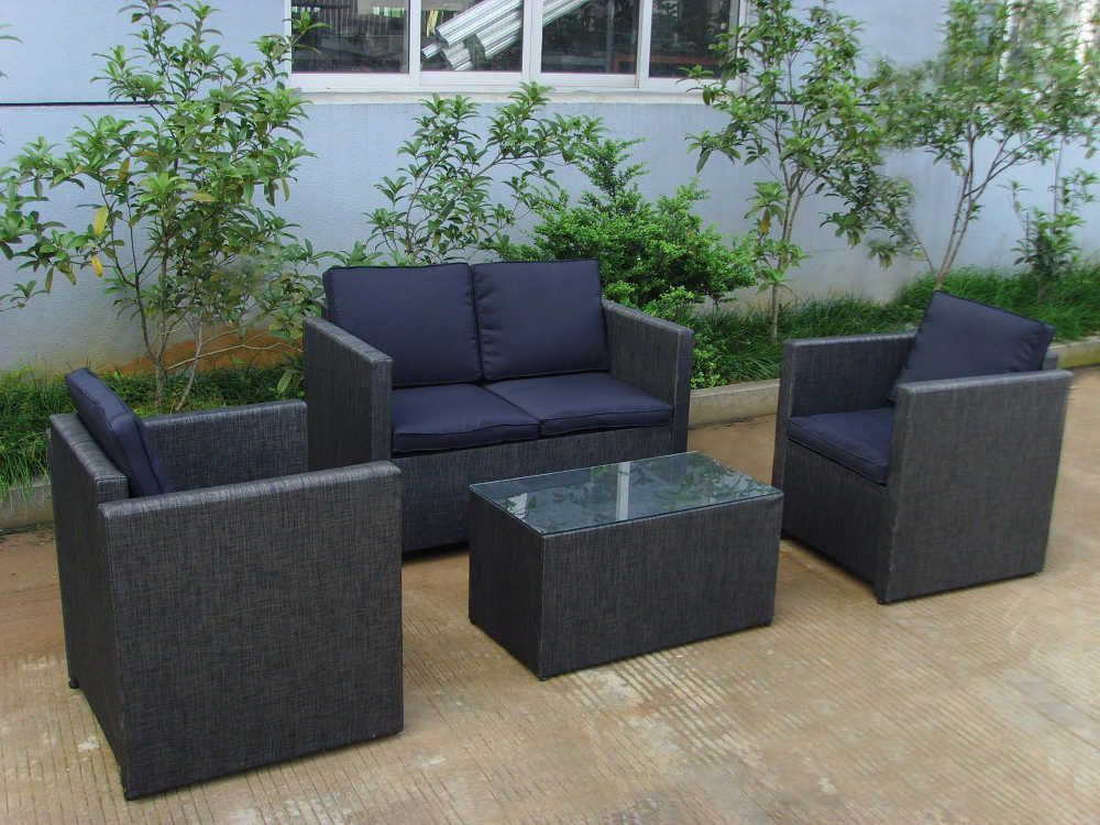 Salon de jardin resine gris anthracite for Le bon coin salon jardin