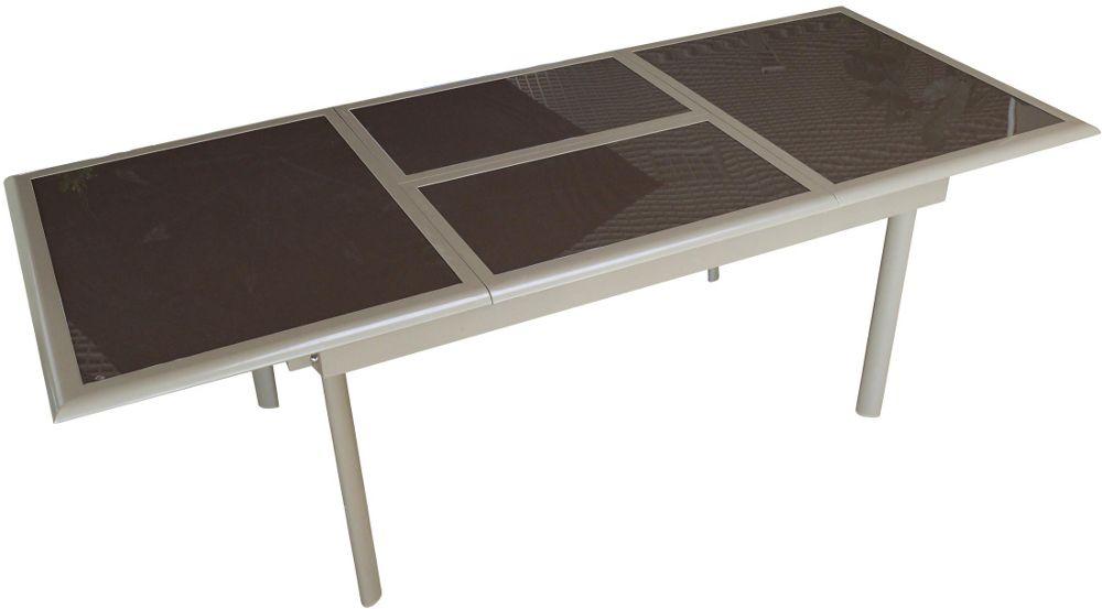 Petite table de jardin bleue des id es for Petite table d angle