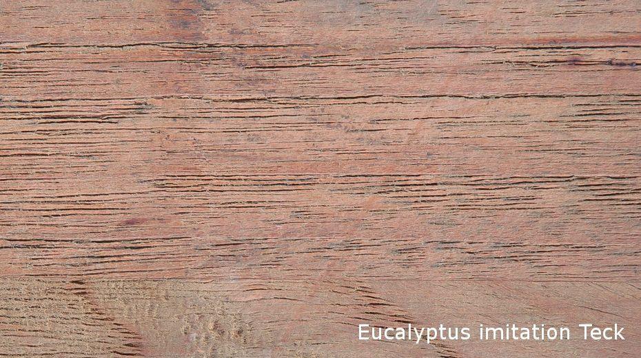 Desserte de jardin en eucalyptus