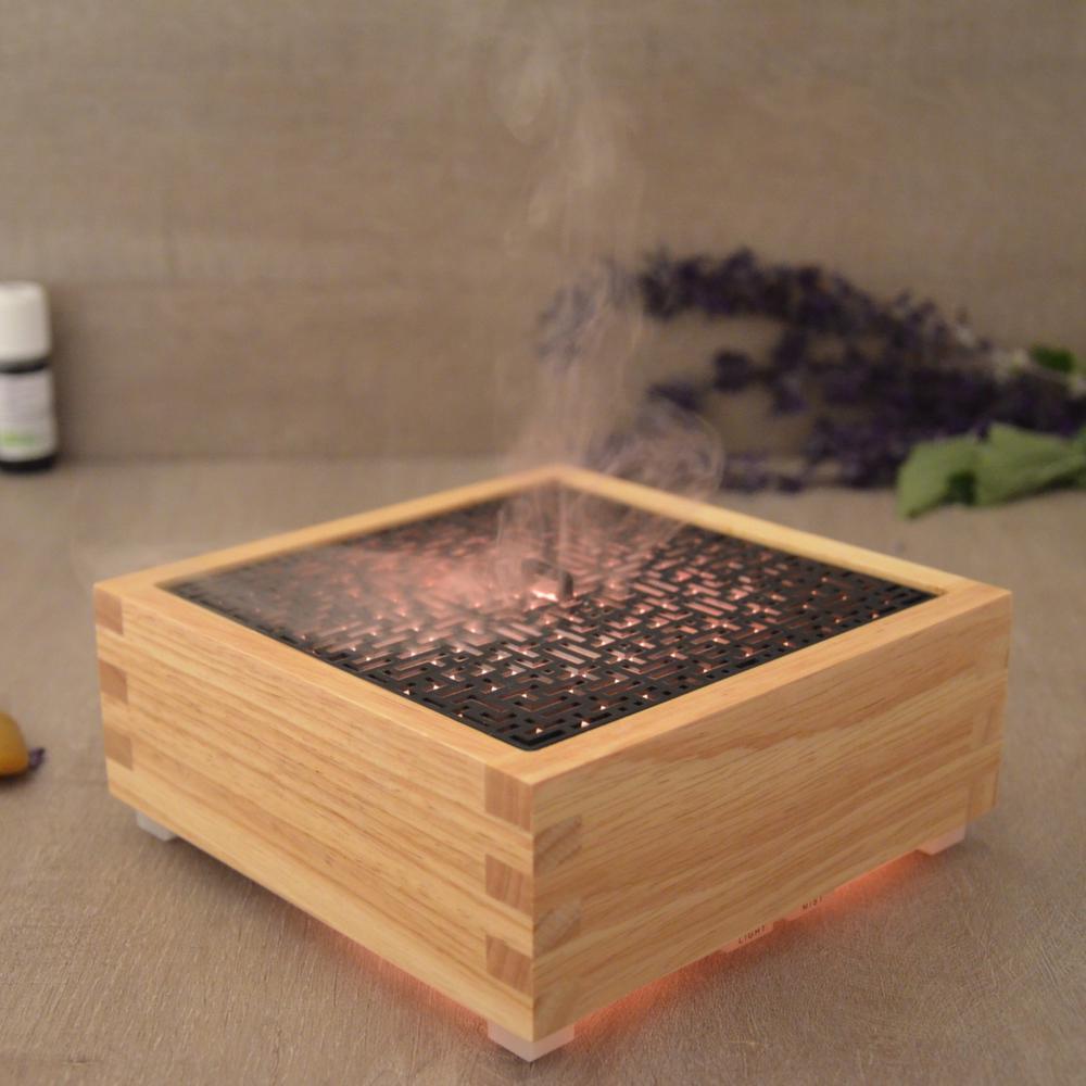 diffuseur huiles essentielles lumineux kaori. Black Bedroom Furniture Sets. Home Design Ideas