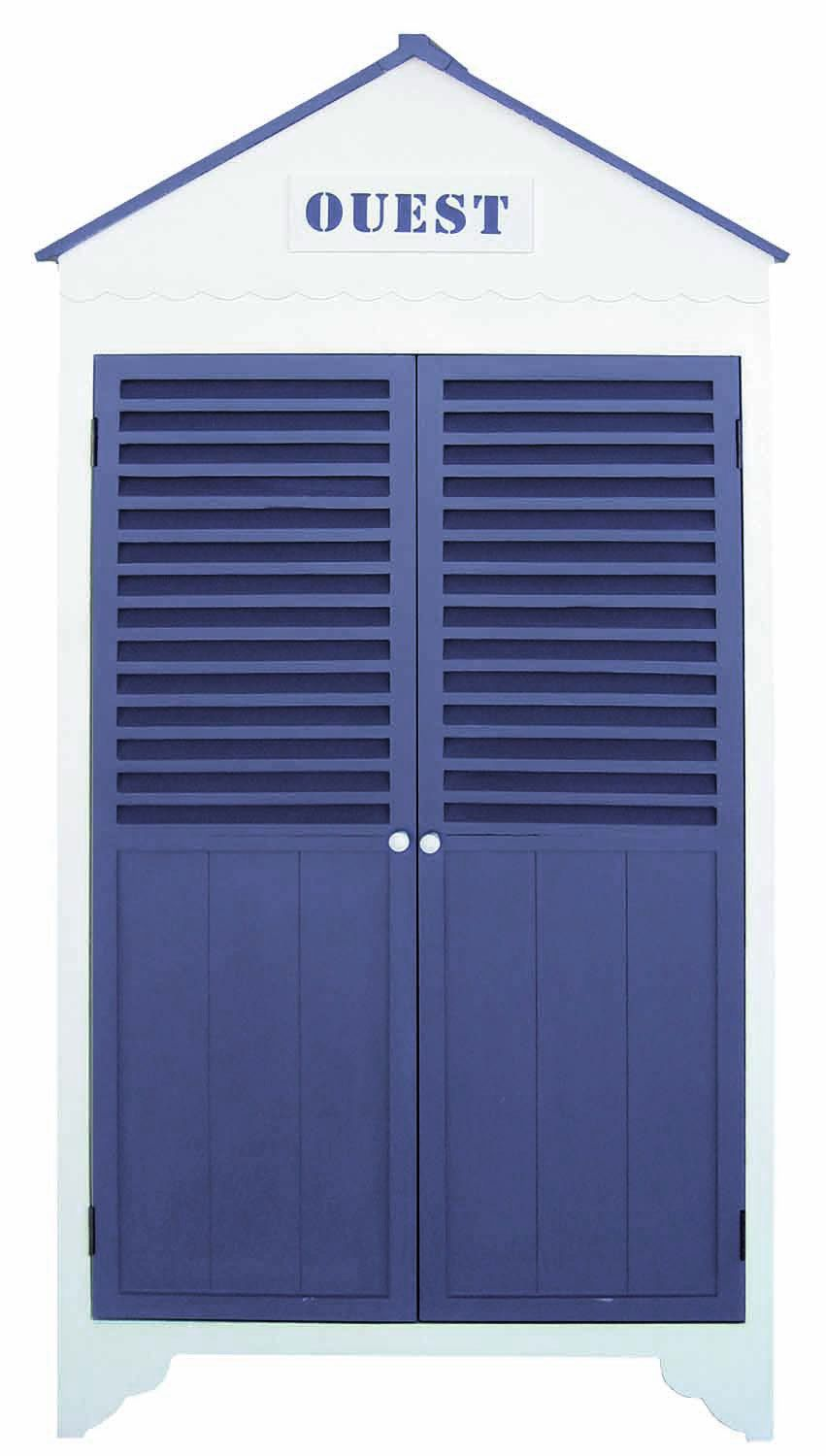 Dressing cabine 2 portes by