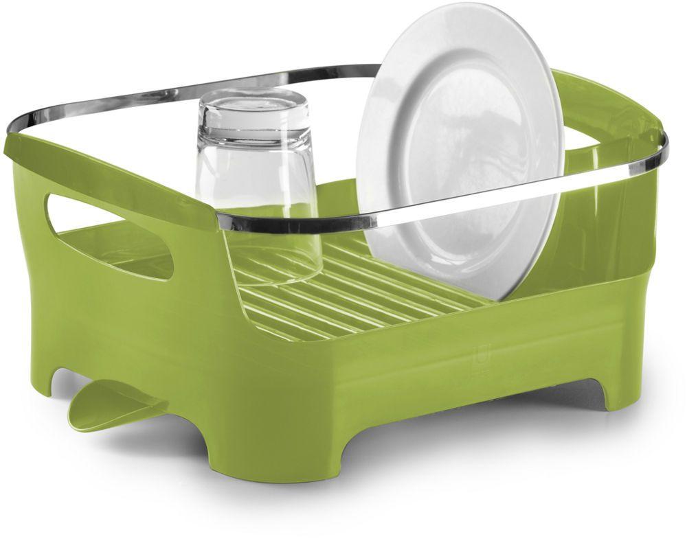 egouttoir vaisselle avec bec de drainage amovible vert. Black Bedroom Furniture Sets. Home Design Ideas
