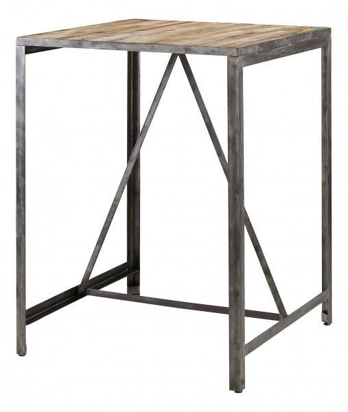 Ensemble bar Besi 1 table + 2 tabourets-2