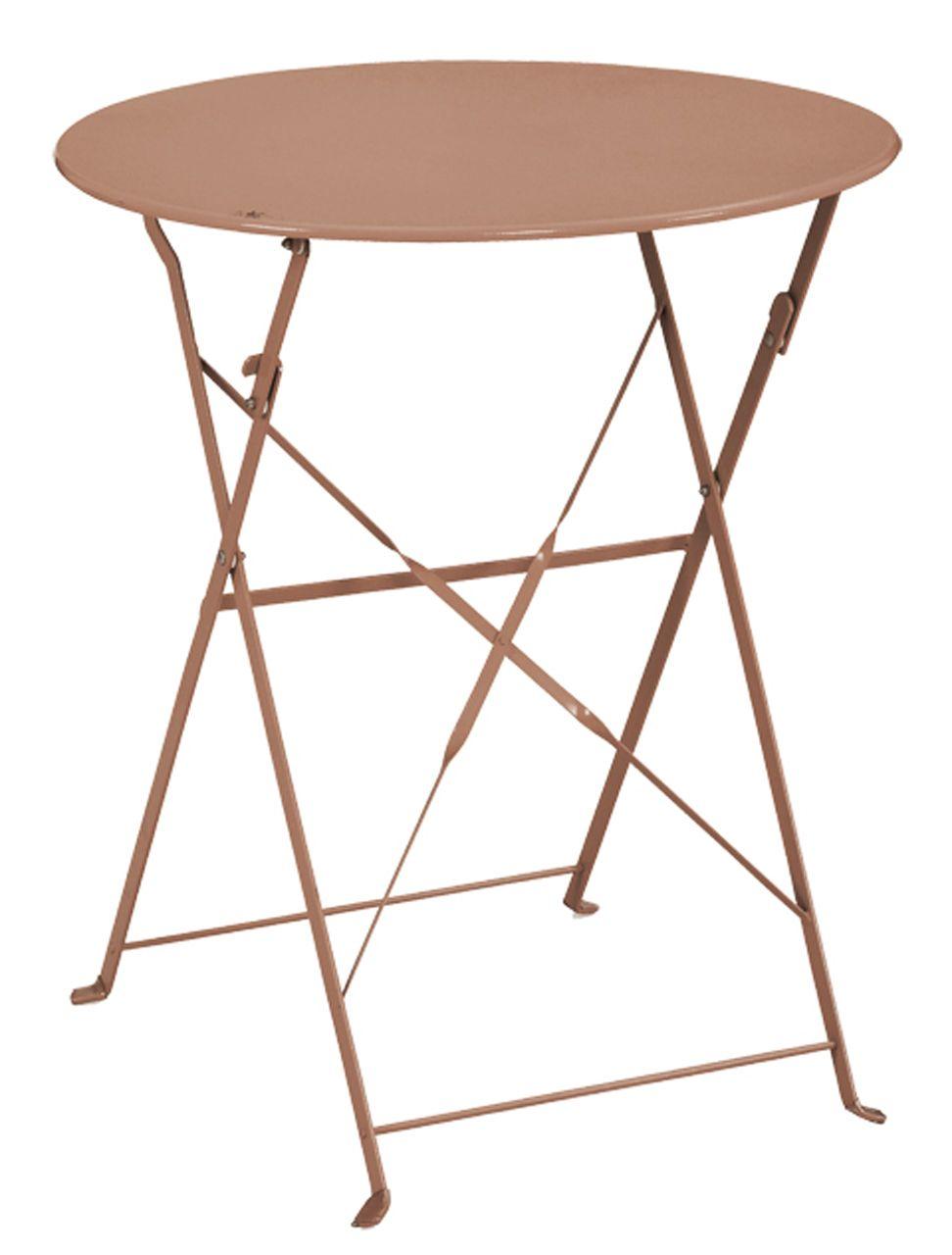 Ensemble de jardin diana 1 table 2 chaises for Table ronde jardin pas cher