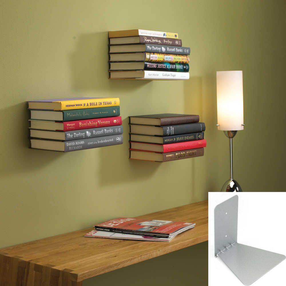 etag re murale invisible etagere murale imitation livres sur. Black Bedroom Furniture Sets. Home Design Ideas