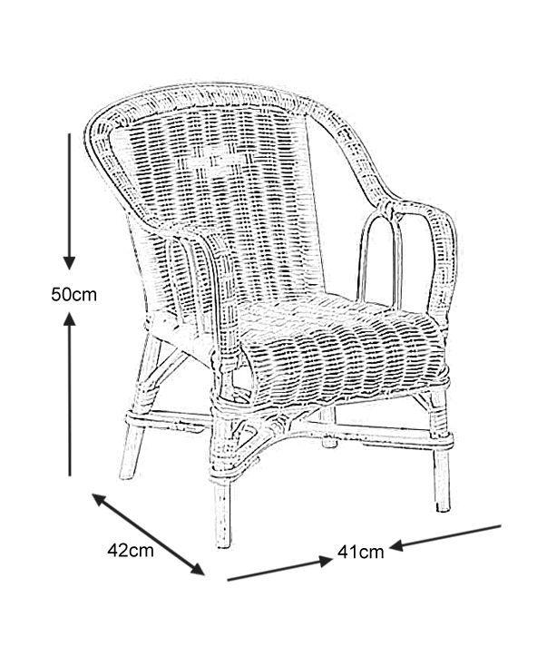 Fauteuil enfant en rotin fauteuil aubry gaspard sur for Fauteuil enfant voiture