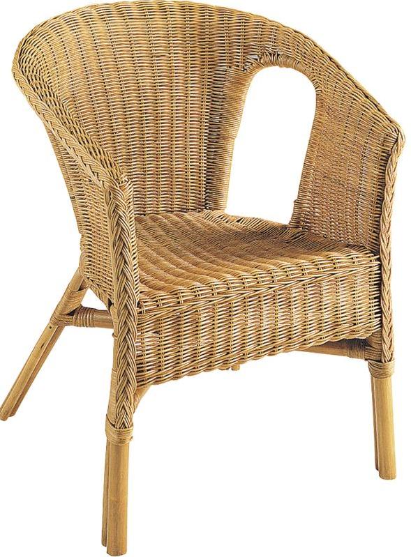 fauteuil en rotin moelle de rotin aubry gaspard. Black Bedroom Furniture Sets. Home Design Ideas
