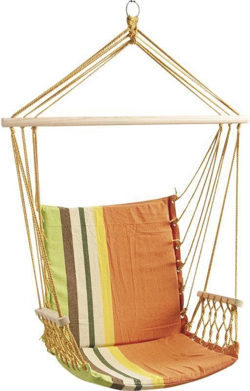 Fauteuil hamac naranja - Hamac fauteuil suspendu avec support ...