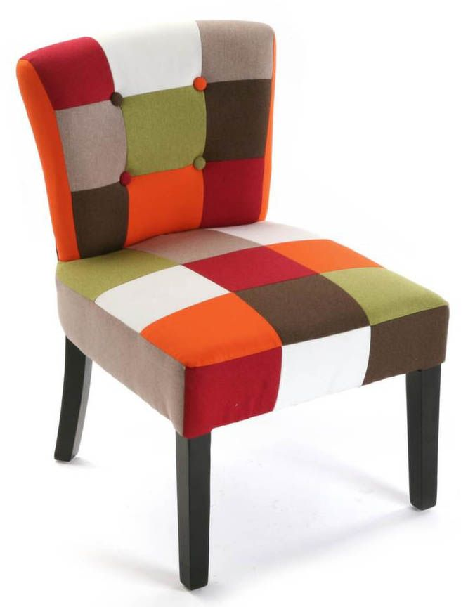 Fauteuil Patchwork vitaminé by Versa
