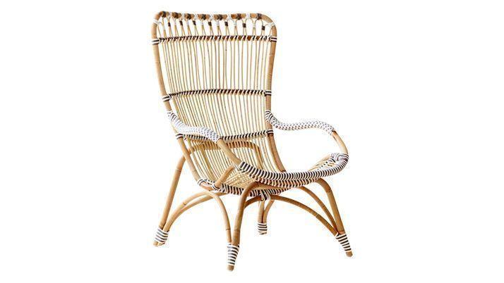 fauteuil osier blanc chaise en rotin fauteuil en rotin mobilier meubles petit fauteuil en. Black Bedroom Furniture Sets. Home Design Ideas