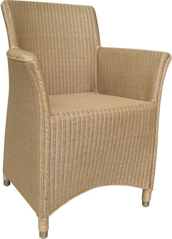 Fauteuil Sapporo naturel en loom et rotin by Aubry gaspard