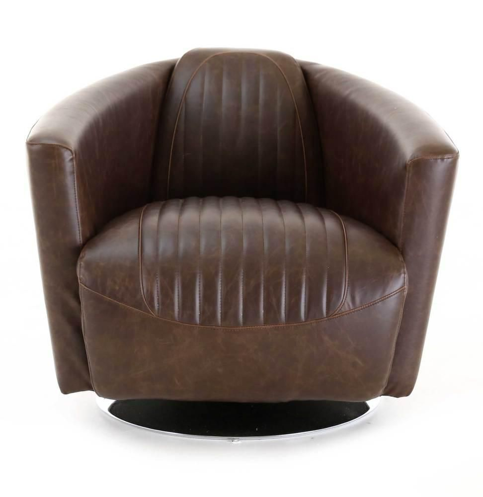 fauteuil cigare en bycast rotatif. Black Bedroom Furniture Sets. Home Design Ideas