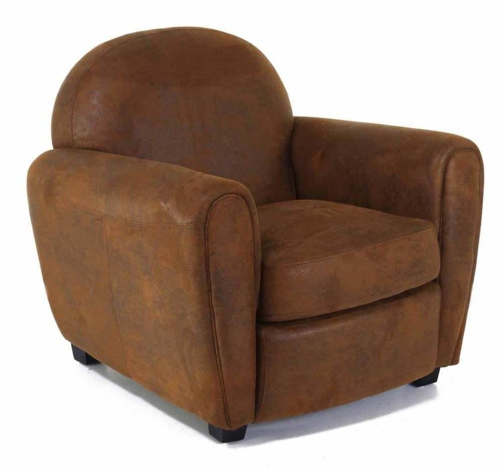 Fauteuil club vintage Maya by