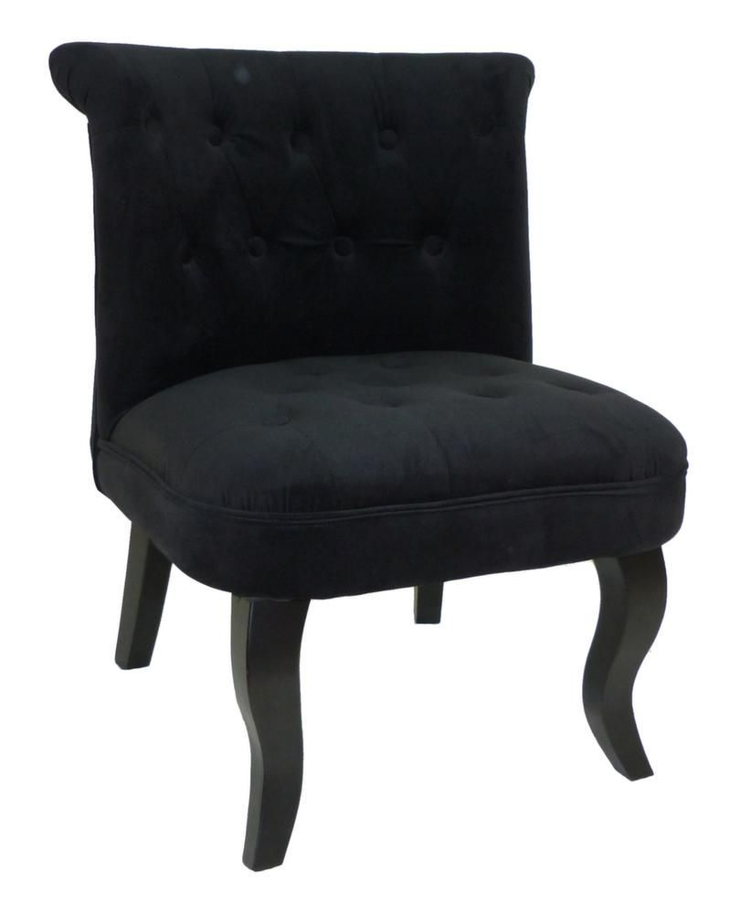 fauteuil crapaud alexia noir. Black Bedroom Furniture Sets. Home Design Ideas