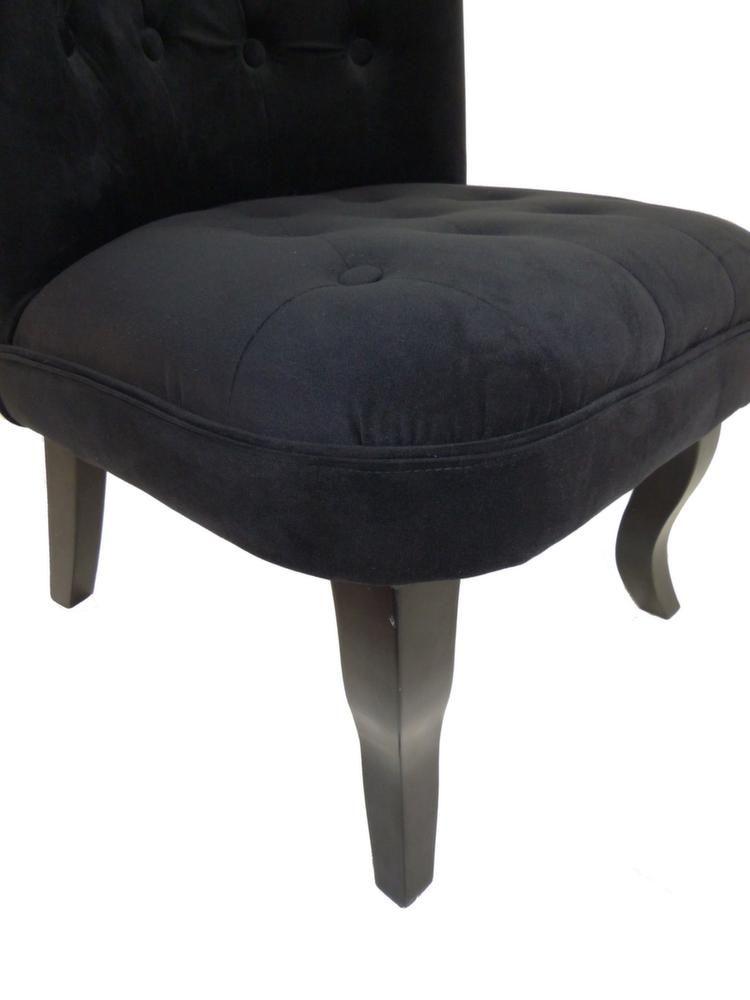 fauteuil crapaud alexia noir. Black Bedroom Furniture Sets. Home Design Ideas