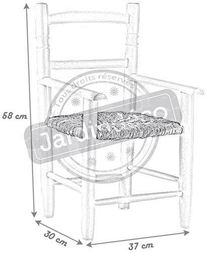 fauteuil enfant en h tre laqu blanc. Black Bedroom Furniture Sets. Home Design Ideas