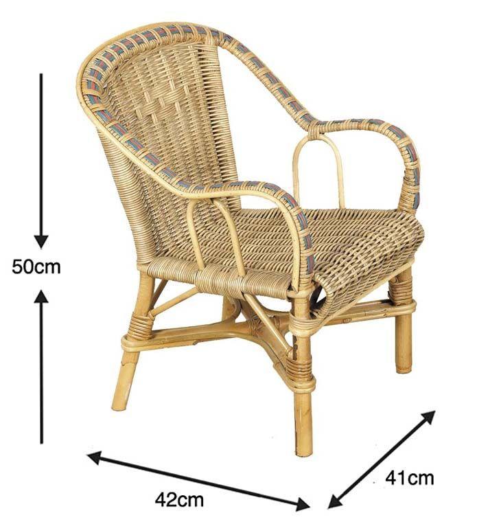 fauteuil enfant en rotin crapaud. Black Bedroom Furniture Sets. Home Design Ideas