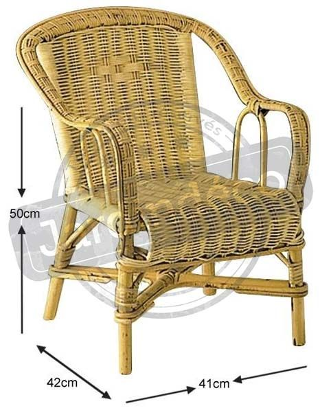 fauteuil enfant en rotin loni naturel. Black Bedroom Furniture Sets. Home Design Ideas
