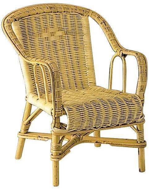 fauteuil enfant en rotin naturel. Black Bedroom Furniture Sets. Home Design Ideas
